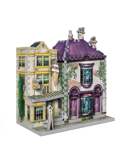 Harry Potter - Madam Malkin's Robes & Florean Fortescue's Ice Cream 3D Puzzle