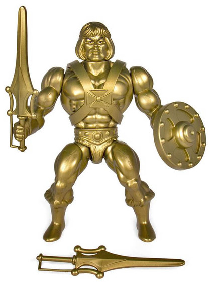 Masters of the Universe Vintage Collection - Gold He-Man