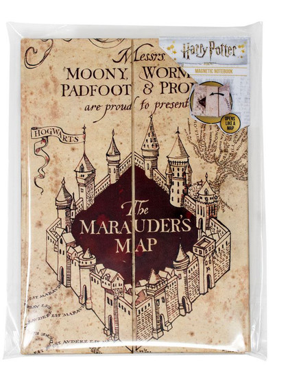 Harry Potter - The Marauder's Map Magnetic Notebook A5