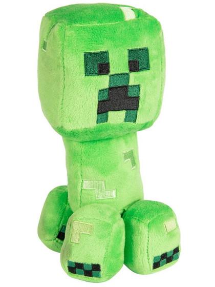 Minecraft - Creeper Happy Explorer Plush Figure - 18 cm