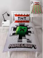 Minecraft - Duvet Set Reversible Dynamite - 135 x 200 cm