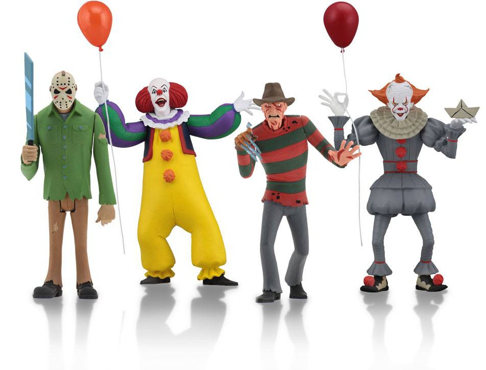 Toony Terrors Action Figures 4-pack
