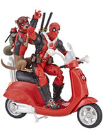 Marvel Legends Vehicles - Deadpool with Scooter