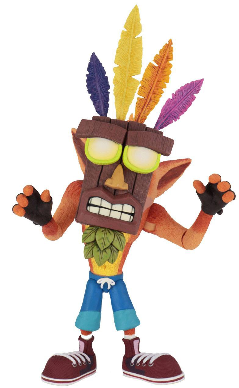 Crash Bandicoot -  Ultra Deluxe Crash with Aku Aku Mask