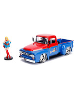 DC Bombshells - 1956 Ford F100 with Super Girl Hollywood Rides - 1/24