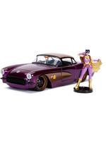 DC Bombshells - 1957 Chevy Corvette with Batgirl Hollywood Rides - 1/24