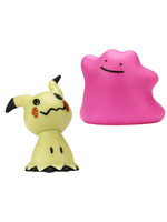 Pokemon - Battle Mini Figures Mimikyu & Ditto
