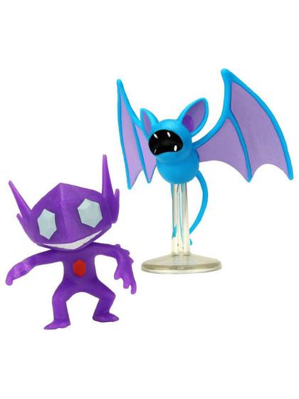 Pokemon - Battle Mini Figures Sableye & Zubat
