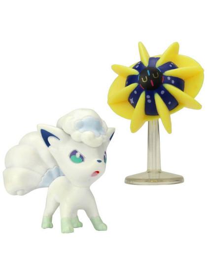 Pokemon - Battle Mini Figures Cosmoem & Alolan Vulpix