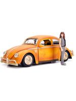 Transformers Bumblebee - Volkswagen Beetle with Figure Diecast Model - 1/24