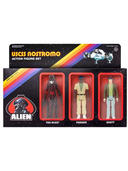 Alien - USCSS Nostromo Pack B 3-Pack - ReAction