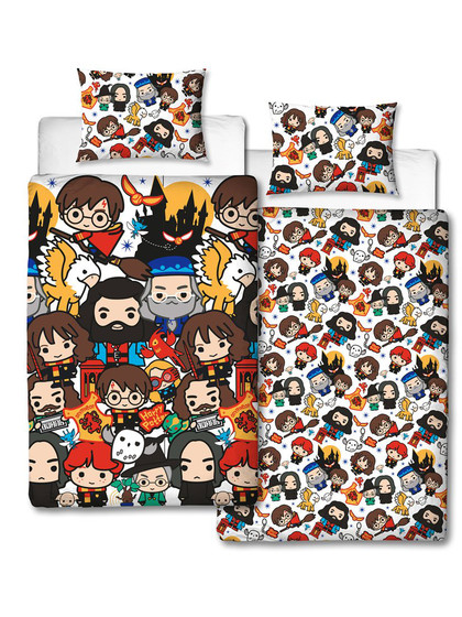 Harry Potter - Duvet Set Reversible Charm - 135 x 200 cm