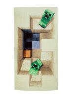 Minecraft - Towel Defeat 140 x 70 cm