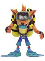 Crash Bandicoot - Scuba Crash Deluxe Action Figure