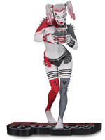 DC Comics Red, White & Black Statue - Harley Quinn by Greg Horn