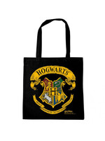 Harry Potter - Hogwarts Logo Black Tote Bag