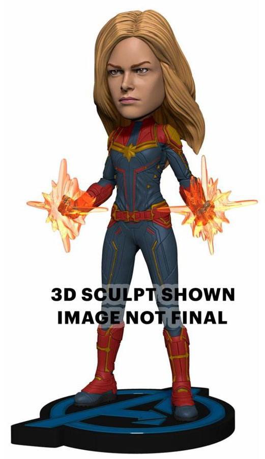 Avengers: Endgame - Head Knocker Bobble-Head Captain Marvel