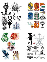 Harry Potter - Temporary Tattoos Set