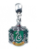 Harry Potter - Slytherin Crest Charm (silver plated)