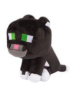 Minecraft - Tuxedo Cat Plush - 20 cm