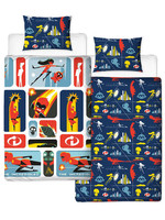 The Incredibles 2 - Reversible Retro Duvet Set - 135 x 200 cm