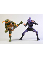 Turtles - Michelangelo vs Foot Soldier 2-Pack