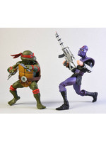 Turtles - Raphael vs Foot Soldier 2-Pack