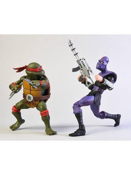 Turtles - Raphael vs Foot Soldier 2-Pack