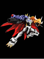 Figure-rise Digimon - Omegamon (Amplified)