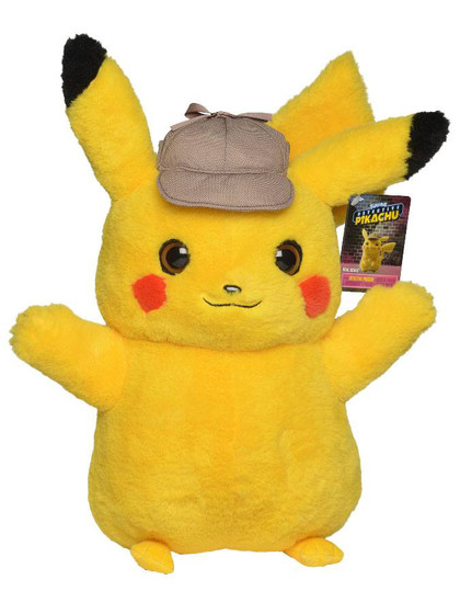 Pokemon - Detective Pikachu Real Scale Plush Figure - 41 cm