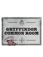 Harry Potter - Common Room Tin Sign - 21 x 15 cm