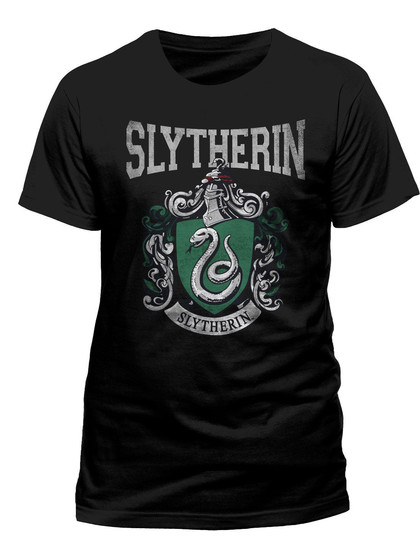 Harry Potter - Slytherin Varsity Crest T-Shirt