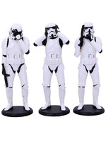 Star Wars - Three Wise Stormtroopers 3-Pack - 14 cm
