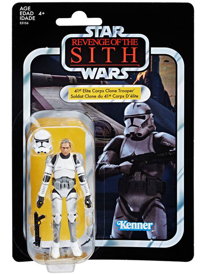 Star Wars The Vintage Collection - Elite Clone Trooper Exclusive