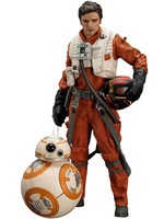 Star Wars Episode VII - Poe Dameron & BB-8 2-Pack - Artfx+