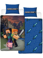Minecraft - Reversible Good Guys Duvet Set - 135 x 200 cm