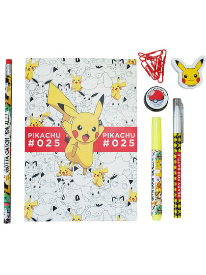 Pokemon - 7-Piece Stationery Set