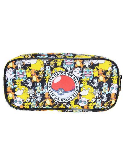 Pokemon - Pencil Case Gotta Catch Em All