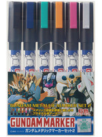 Gundam - Metallic Marker Set 2