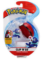Pokemon - Popplio Clip´n´Go Poké Ball