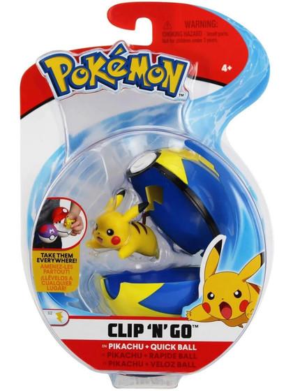 Pokemon - Pikachu Clip´n´Go Quick Ball