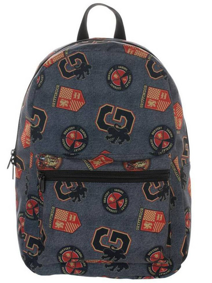Harry Potter - Gryffindor Patches Backpack