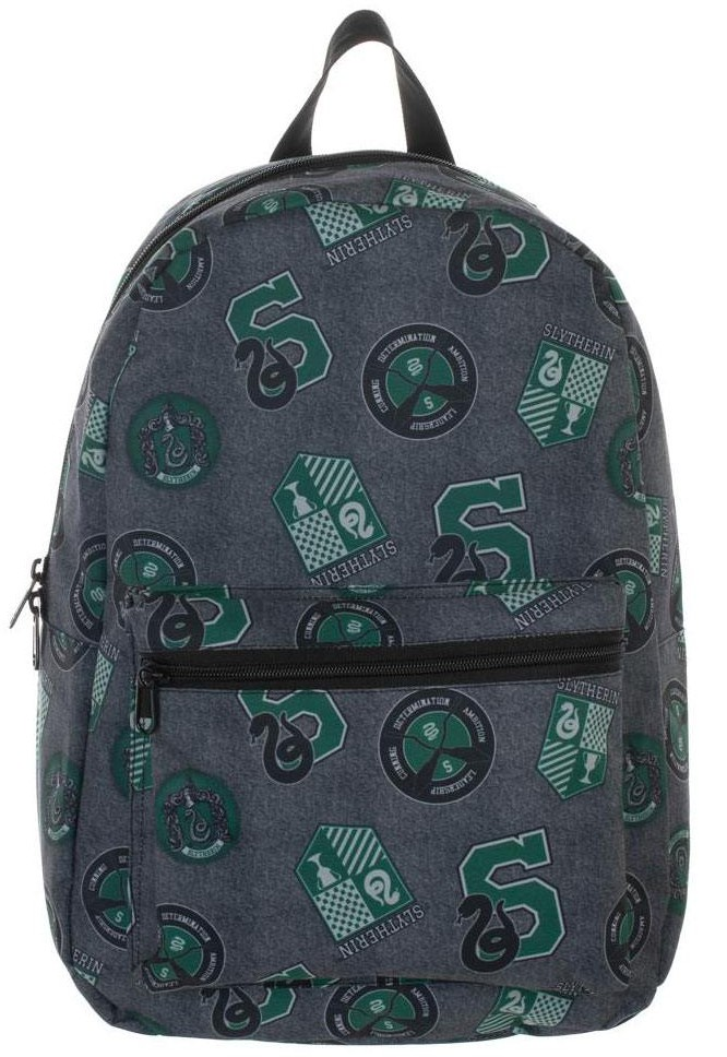 Harry Potter - Slytherin Patches Backpack