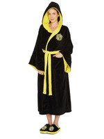 Harry Potter - Ladies Fleece Bathrobe Hufflepuff