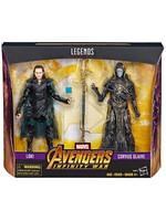 Marvel Legends - Corvus Glaive & Loki (Avengers: IW) 2-Pack