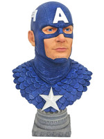 Marvel - Captain America Legends in 3D Bust - 1/2