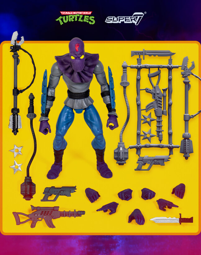 Turtles - Ultimates Action Figure Foot Soldier