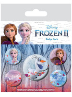 Frozen 2 - Destiny Pin Badges 5-Pack