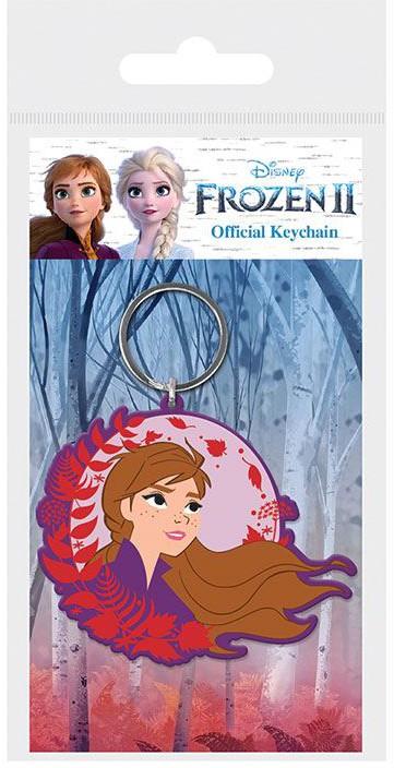Frozen 2 - Anna Rubber Keychain