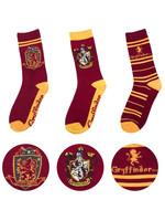 Harry Potter - Socks 3-Pack Gryffindor